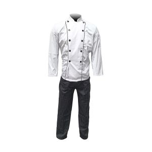 Catering Clothes - Coat and Trousers Set