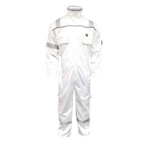 Coverall - Flame retardant | 3000 series-White-2XL