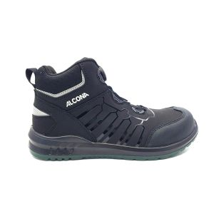 Leather Safety Shoes | 3000 Series | Mid cut  | Speed lace